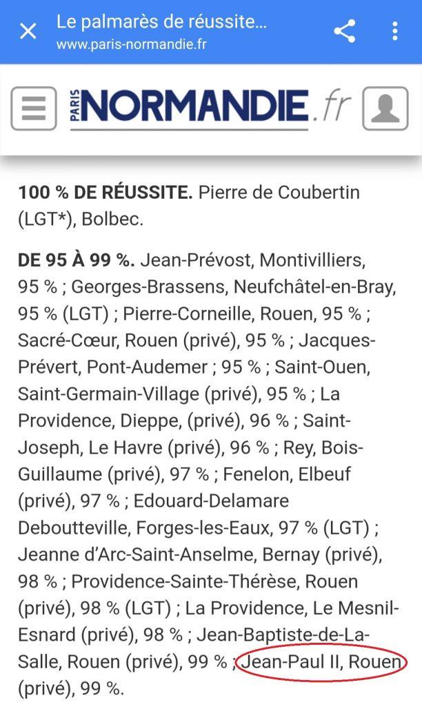 Classement 04 Paris-Normandie