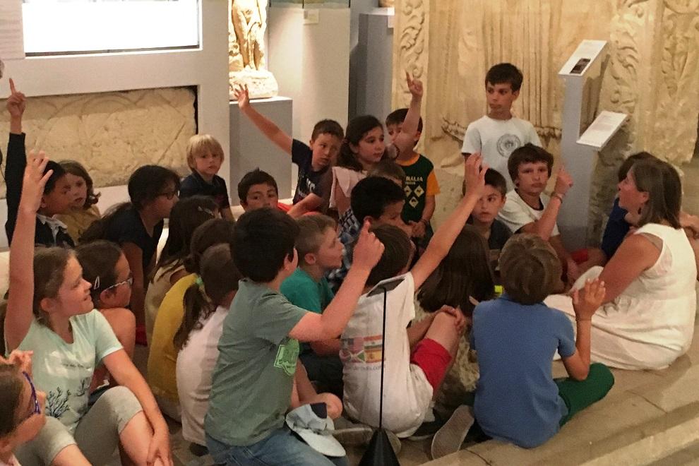 CE2 au musée des Antiquités 02